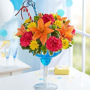 Image of It's My Birthday floral arrangement by Thomas Florist