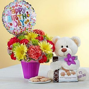 Lotsa Love® Birthday arrangement from Thomas Florist