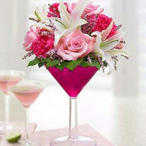 Cosmopolitan Bouquet by Thomas Florist
