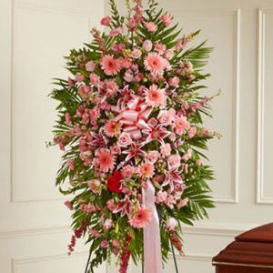Deepest Sympathies in Pink by Thomas Florist