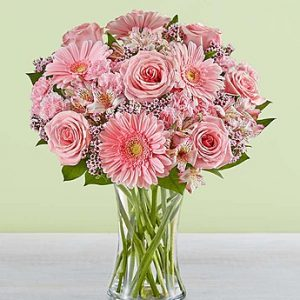 For All She Does arrangement by Thomas Florist