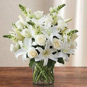 Classic All White Arrangement™ - lg